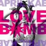 April Kae Love Bomb single album cover art