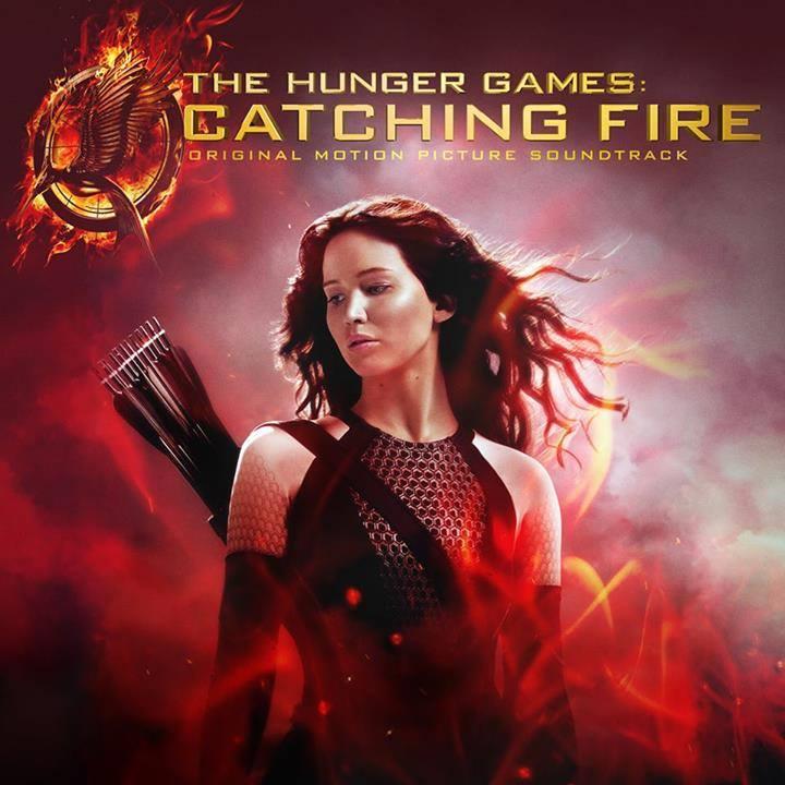 Catching Fire album cover art Hunger Games artwork