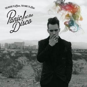Panic! At The Disco Too Weird To Live Too Rare To Die album cover art artwork