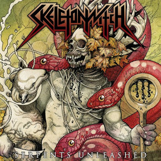 Serpents Unleashed album cover art Skeletonwitch