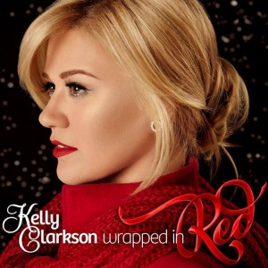 Kelly Clarkson Wrapped In Red album cover artwork art