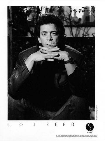 Lou Reed Promo 1991