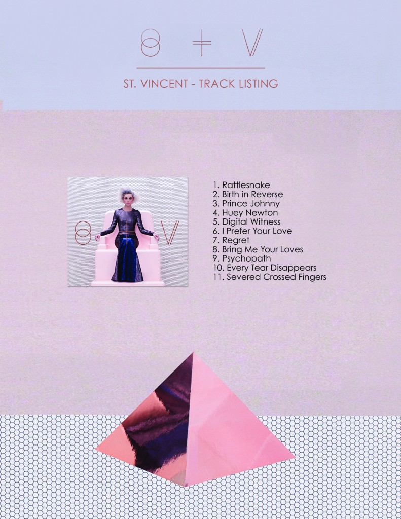 St_ Vincent - Track Listing