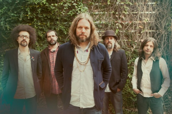 Rich Robinson and band. Photo by Alysse Gafjken.