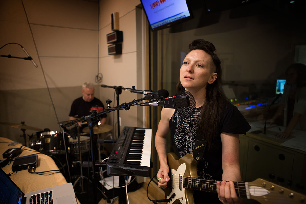My Brightest Diamond performing at a Boston radio station on 9/22/14.