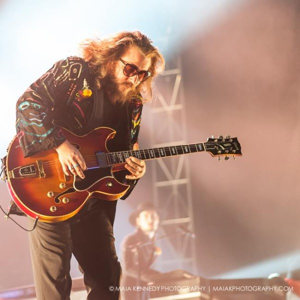My Morning Jacket delivers their unique sound to the city...  PHOTO: MAIA KENNEDY PHOTOGRAPHY