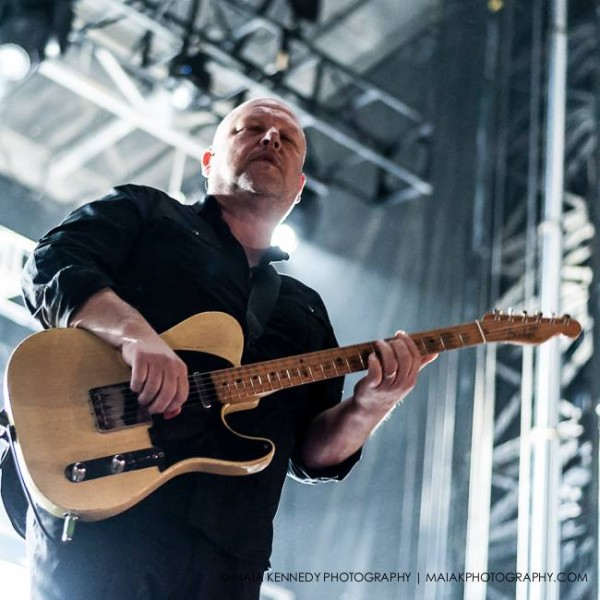 Pixies' Black Francis delivers his influential music...  PHOTO: MAIA KENNEDY