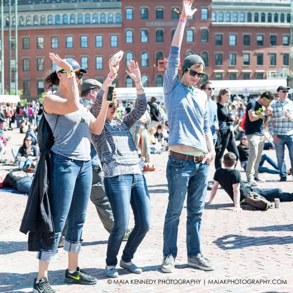 Aerobics at Boston Calling?   PHOTO: MAIA KENNEDY