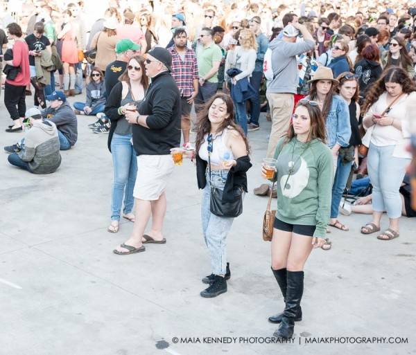 Sometimes those who stepped out of the crowd had the most fun...  PHOTO: MAIA KENNEDY