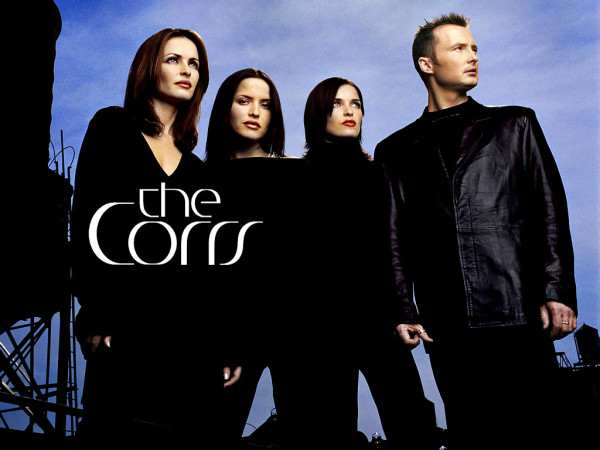 the corrs blue background lg
