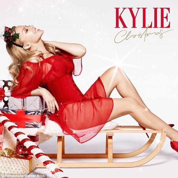 Kylie Christmas cover