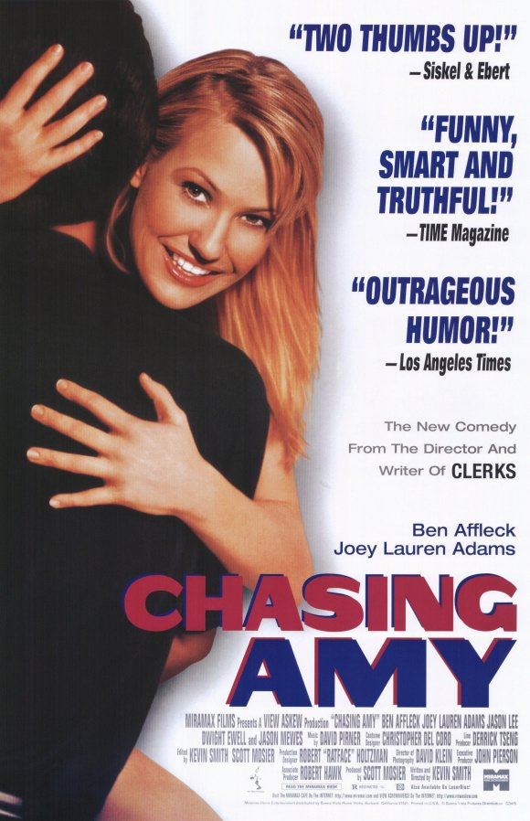chasing amy 1997 poster