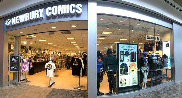 Newbury Comics at the Pheasant Lane Mall in Nashua, NH