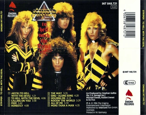 Stryper - To Hell With The Devil [back]